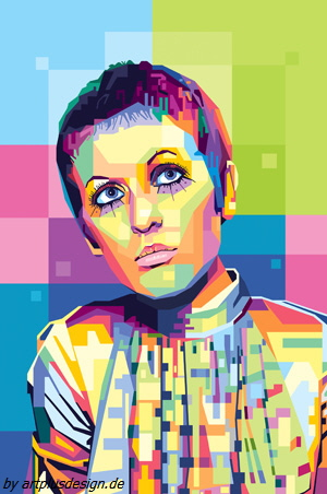 Tribute to Julie Driscoll       by artplusdesign.de